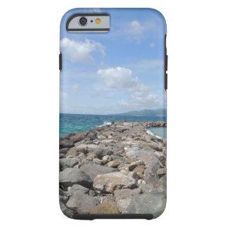 Grenada jetties and ocean 2 iPhone case