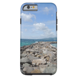 Grenada jetties and ocean 2 iPhone case Tough iPhone 6 Case