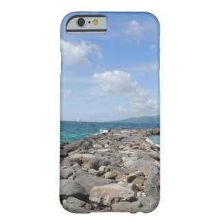 Grenada jetties and ocean iPhone case Barely There iPhone 6 Case