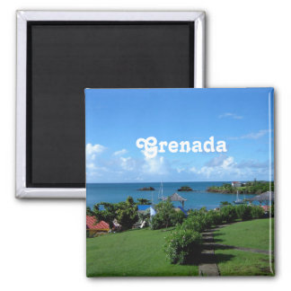 Grenada Landscape Fridge Magnets