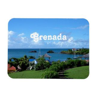 Grenada Landscape Flexible Magnet