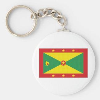 Grenada National Flag Key Chain
