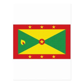Grenada National Flag Postcards