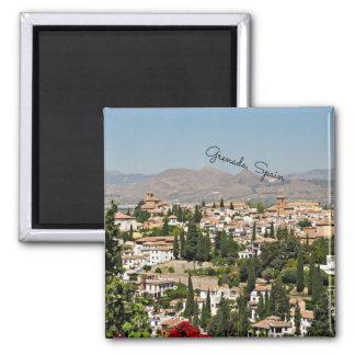 Grenada Spain cityscape Magnet