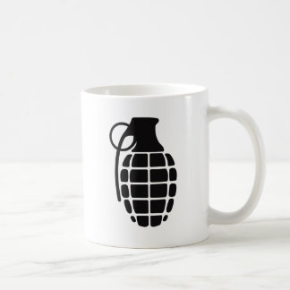 Grenade Basic White Mug