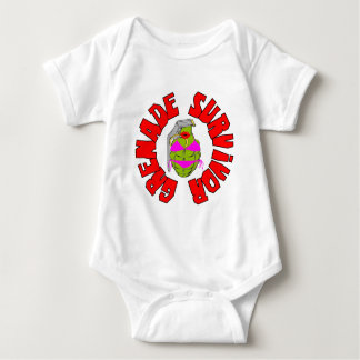 Grenade Survivor Baby Bodysuit