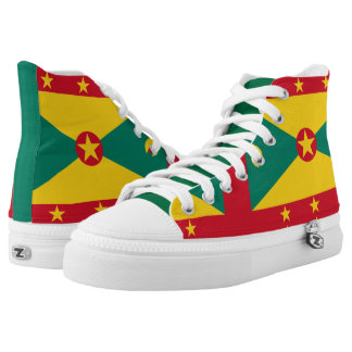 Grenadian coat of arms high tops