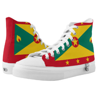 Grenadian Flag Printed Shoes