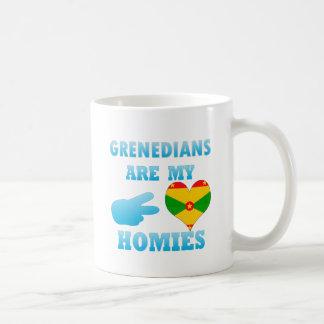 Grenadians are my Homies Coffee Mugs