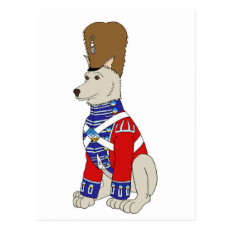 Grenadier Dog II Postcard