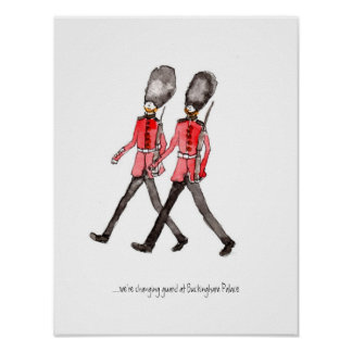 Grenadier Guard poster