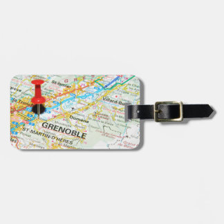 Grenoble, France Luggage Tag