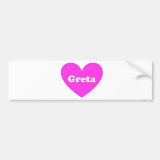 Greta Bumper Sticker