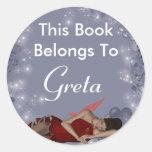 Greta Classic Round Sticker