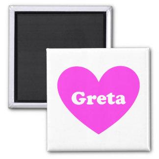 Greta Square Magnet