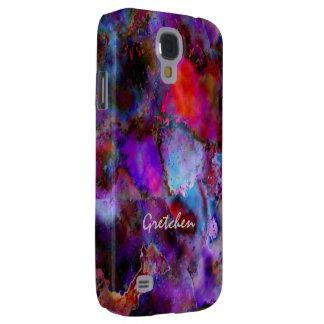 Gretchen Colored Veining Samsung Galaxy S4 case