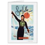 Gretchen Fraser Advertisement Poster Greeting Card