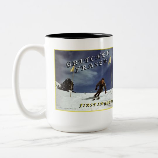Gretchen (Kunigk) Fraser Two-Tone Coffee Mug