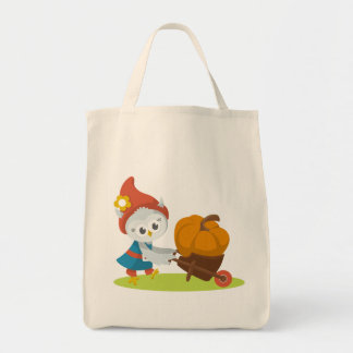 Greww and the Giant Pumpkin Tote Bag