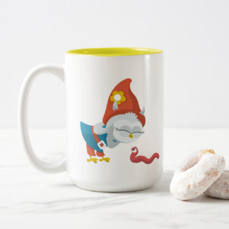 Greww & The Earthworm Two-Tone Coffee Mug