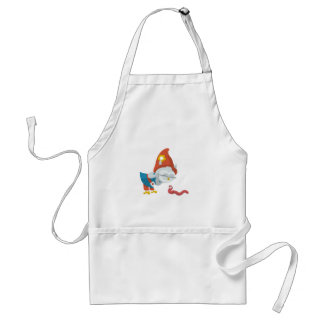 Grewwit and the Worm Standard Apron