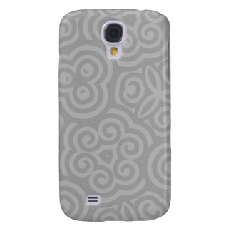 Grey Abstract Pattern Galaxy S4 Case
