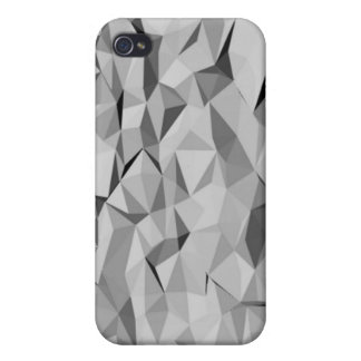 grey abstract pattern iPhone 4 cover