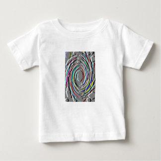 Grey Abstract Swirl Tee Shirt