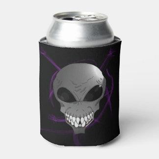 Grey alien Custom Can Cooler