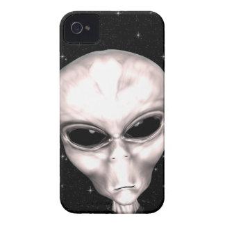 Grey Alien Space iPhone 4 Case