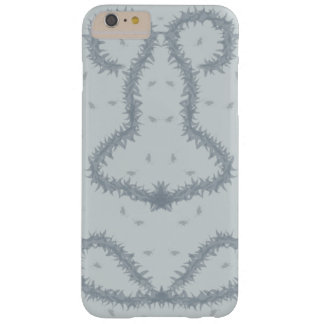 Grey and silver artsy design barely there iPhone 6 plus case