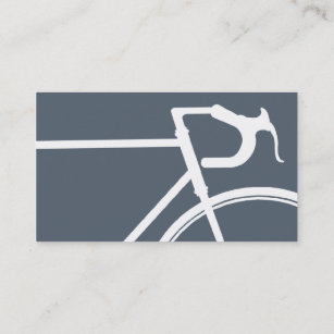 Bicycle business cards business card printing zazzle uk grey and white bicycle business card colourmoves