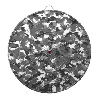 Grey and White camo Dartboard
