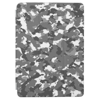 Grey and White camo iPad Air Cover