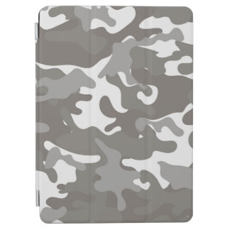 Grey and White Camouflage iPad Air Cover
