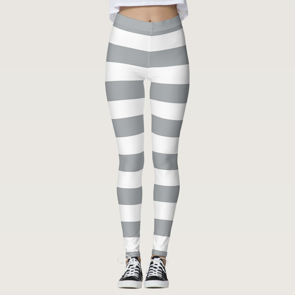 Grey and White Stripes