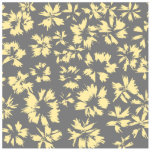 Grey and yellow floral pattern. photo cutouts