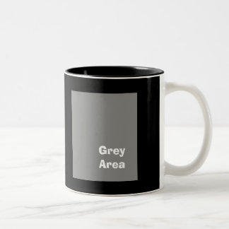 Grey Area mug