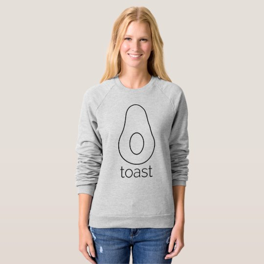 Grey Avocado Toast Sweatshirt