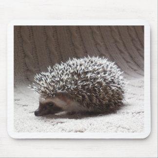grey baby hedgehog mouse mat