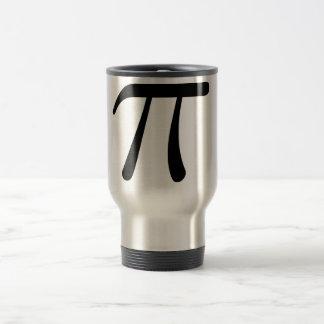 Grey Black Gray Yellow Orange Pi 3.14 symbol Math Coffee Mug
