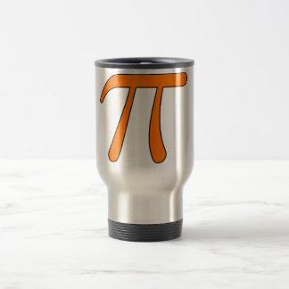 Grey Black Gray Yellow Orange Pi 3.14 symbol Math Mugs