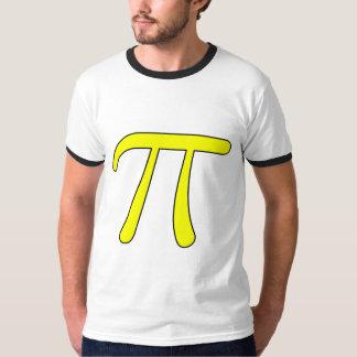 Grey Black Gray Yellow Orange Pi 3.14 symbol Math T-Shirt