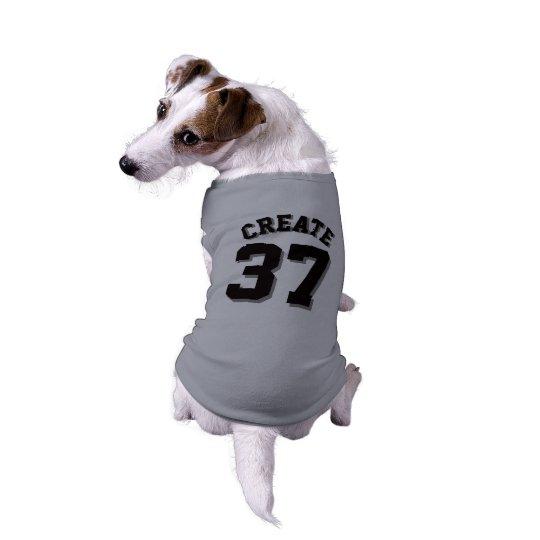 Grey & Black Pets | Dog Sports Jersey