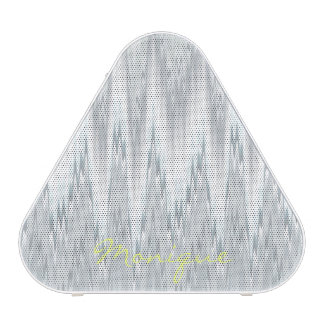 grey blurred zigzag personalized by name