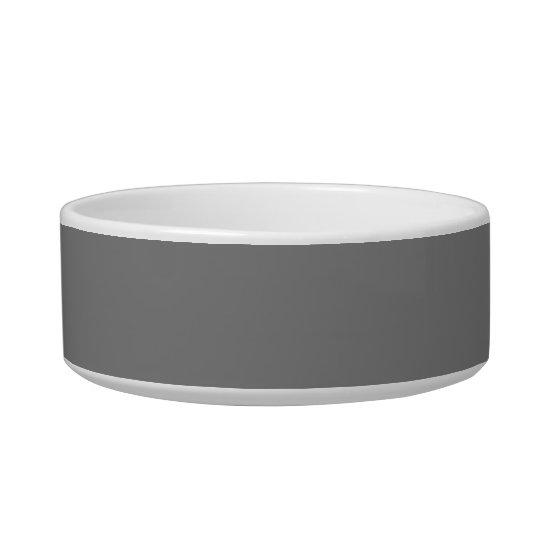 Grey Bold Monochromatic Bowl