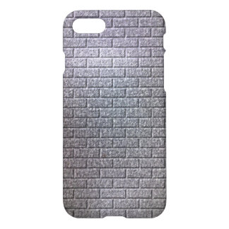 grey brick wall pattern iPhone 8/7 case