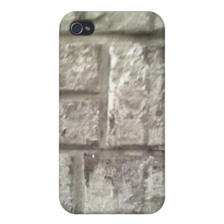 Grey Brickwall iPhone 4 Cover