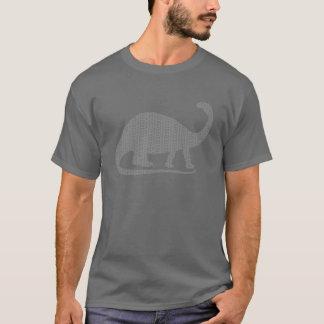 Grey Brontosaurus T-Shirt