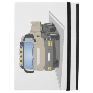 "grey building sites truck iPad pro 12.9"" case"